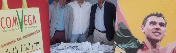 Ganadores de la campaña «El Comercio con el Niño García»