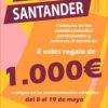 De compras por Santander